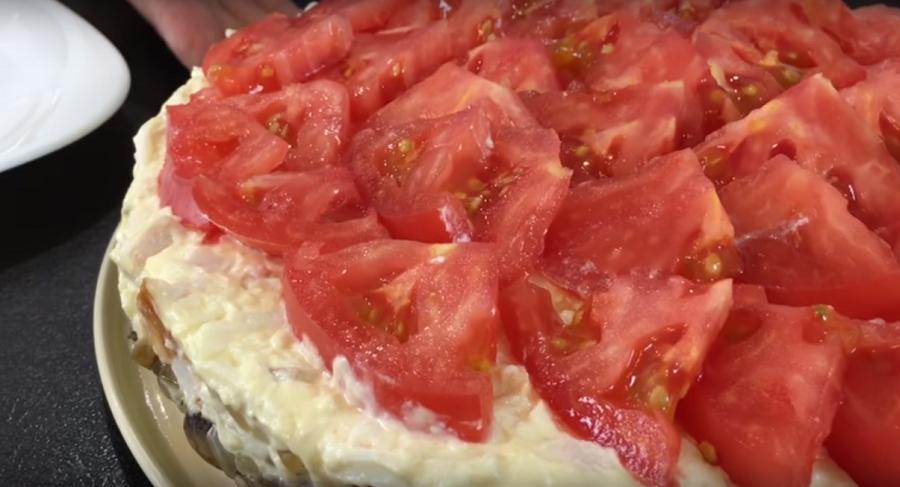 Как приготовить салат любимый муж видео