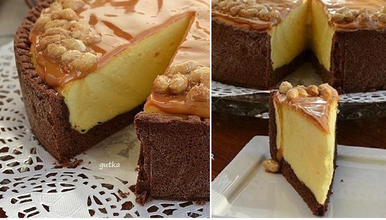 Простой десерт со сгущенкой
